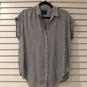Abercrombie & Fitch striped button up
